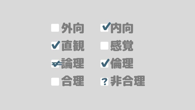 アイキャッチ:ユング式二分法でソシオニクスのタイプを絞ろう!【ソシオタイプ診断】