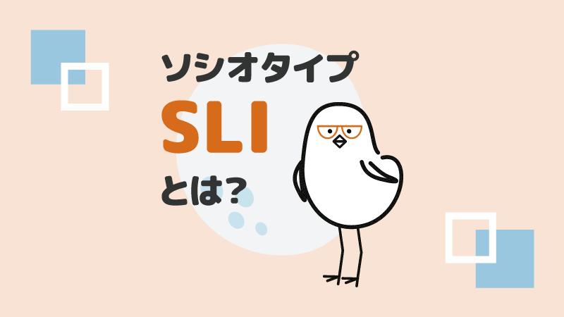 アイキャッチ:ソシオタイプSLIとは?